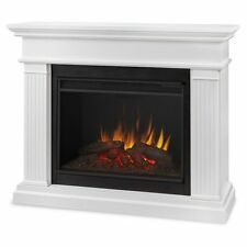 Real Flame Kennedy Grand Electric Fireplace- White - 8070E-W NEW