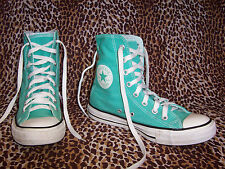 Converse All Star Chuck Taylor Womens High Top Shoes Sneakers Size 8 blue teal