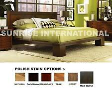 Sunrise 5 pc Wooden Bedroom Set -1  King Double Bed ,2 bedside,1 dresser,1 frame