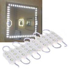 1.5m 30 LED Light Cosmetic Makeup Vanity Mirror Lighted White W/ Power Adapter