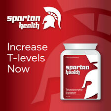 SPARTAN HEALTH TESTOSTERONE BOOSTER PILLS TABLET FASTER MUSCLE GROWTH NOW