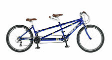 "Viking Regency Tandem Bike 26"" Aluminium 24 Speed 17""/15"" Frame Blue"