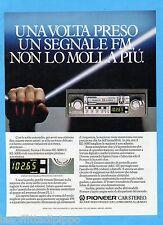 QUATTROR981-PUBBLICITA'/ADVERTISING-1981- PIONEER KE-5000