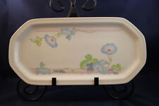The Toscany Collection Westbury Bread Tray Serving Dish Replacement China Flower
