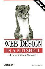 Web Design in a Nutshell, Jennifer Niederst, Good Condition, Book