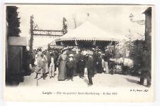 CPA  LAIGLE 61  - FETE QUARTIER SAINT BARTHELEMY MANEGE FORAIN 10 MAI 1903 ~A81