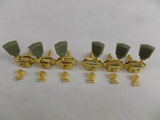 Guitar Tuners Gold x 6 Machine Head Vintage For LP SG Tulip Style 3L + 3R New