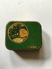 Petite Boite métallique pastille valda vintage ancienne pharmacie