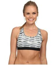 NIKE  PRO CLASSIC BRA TOP SIZE X LARGE RACER BACK BLACK GREY MIX