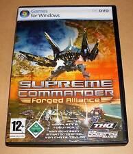 PC Game Spiel - Supreme Commander - Forged Alliance - Deutsch - Neuwertig