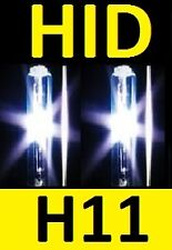 H11 1pr 35W 55W 70W HID Globes Bulbs - 2 yr warranty Melbourne seller any color