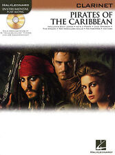 PIRATES OF THE CARIBBEAN Music Book & CD for CLARINET