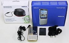 "NOKIA C3 18-Carat Gold Plated Edition 5MP 2.4"" Mobile Phone Unlocked Set"