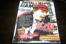 METAL HAMMER MAGAZINE 12/2008 AC/DC FIREWIND GAMMA RAY LACUNA COIL ARCH ENEMY