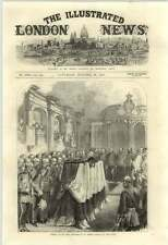 1871 Funeral Of Sir John Burgoyne St Peters Church At The Tower