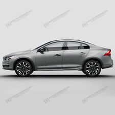 For: VOLVO S60; BODY SIDE Moldings Moulding Trim CHROMED ABS 2010-2017