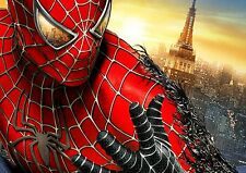 SPIDERMAN A3 RE POSITIONAL FABRIC POSTER