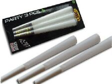 "3x 4.5"" King Size Pre Rolled Kingskins Tobacco Cones Rizla Smoking Papers Skin"