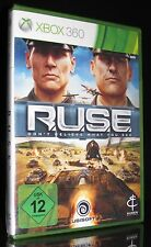 XBOX 360 RUSE - R.U.S.E. - DON'T BELIEVE WHAT YOU SEE - IN DEUTSCH - STRATEGIE