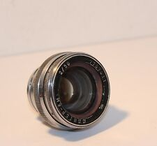 JUPITER-8M 50mm f/2 Contax Mount Fixed Focus Lens .... ( 7737011 ) SOLD AS IS !