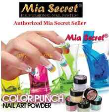 Mia Secret ACRYLIC ART POWDER PUNCH COLLECTION 3D 6 pcs NEW COLLECTION MADE USAC