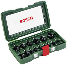 Bosch 2607019468 1/4in 15 Piece TC Router Set