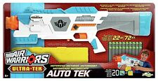 AIR WARRIORS AUTO TEK MOTORIZED FOAM DART FIRING GUN BRAND NEW 20 X DARTS