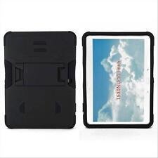 "Hybrid Rugged Stand Black Box Case Cover For Samsung Galaxy Tab 4 10.1"" SM-T530"
