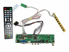 HDMI USB AV VGA ATV LED LVDS Controller Kit for LTN156AT19 LTN156AT24 1366x768