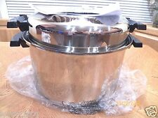 NEW WEST BEND KITCHEN CRAFT 12 QT FAMILIE COOKER POT WATERLESS COOKWARE USA MADE