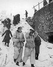 German Army Prisoners Battle Of The Bulge Ardennes WWII John Florea Photo FL7