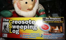 CSL Creosote Chimney Fireplace Cleaning Sweeping Log safety 2 pack no boxes