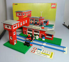 Lego ® Town Classic set 148, Estación Central Station + caja, no instruction!