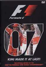 FORMULA 1 KIMI MADE IT AT LAST DVD 07 OFFICIAL REVIEW  NEW SEALED 3 HOURS +
