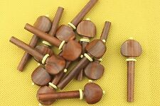 20pcs new high quality rosewood violin tuning pegs 4/4 full size