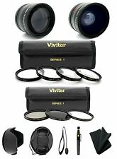 52MM Macro Close Up Set + ND2 ND4 ND8 Filter Kit for Nikon DSLR 18-55mm Lens