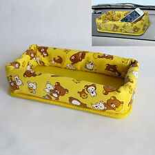 Rilakkuma Car Accessory, Antislip Dashboard Storage Case, Kawaii, San-X, Japan