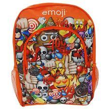 EMOJI LARGE RUCKSACK BACKPACK SCHOOL BAG SMILEY SMILIE FACE NEW