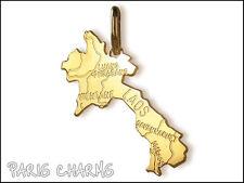 Pendentif plaqué or Laos