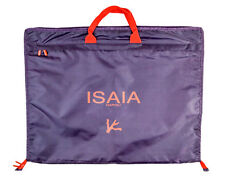 "New ISAIA Napoli Waterproof Nylon 52"" Suit Coat Garment Bag Briefcase Attache"
