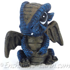 1 x NEW FIDDLEHEAD FAIRY GARDEN /MINIATURE GARDEN /BABY BLUE DRAGON