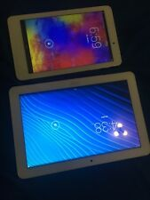 Acer Iconia A3-A20-K1AY 10.1in And Acer Ivonia One 8 White Tablet SOLD AS-IS