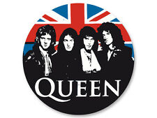 Pin Button Badge Ø38mm Queen Rock UK Freddie Mercury