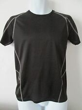 PUMA - BLACK, C-NECK T SHIRT SIZE S - CLIMACOOL 100% POLYESTER
