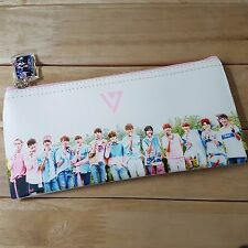 SEVENTEEN Pencil Case Pouch Cosmetics Bag with Charm KPOP