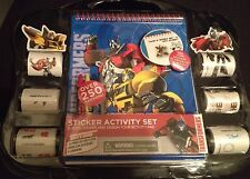 Hasbro Transformers Robots Activity Pad and Sticker Set Toy for kids boys