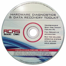 ACRS BOOT DISC DISK FOR WINDOWS 7 8 10 DATA RECOVERY/PASSWORD RESET/UTIL SUITE