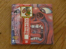 King Crimson:Court HQ CD+DVD+X 40th Japan Mini-LP CD IEZP-15 SS (greg lake elp Q