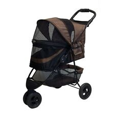 Pet Gear No-Zip Special Edition Stroller, Chocolate PG8250NZCH STROLLER NEW