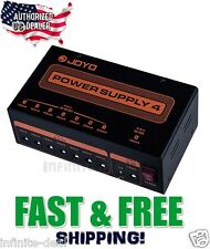 JOYO JP-04 Guitar Effects Pedal Power Supply Pedalboard Power 9V 12V 18V